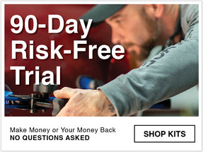 90 day risk free trial on all keco collision kits