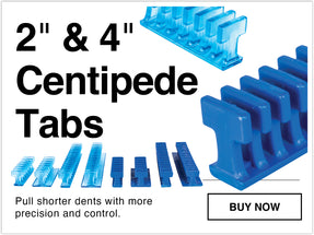 "2"" centipede glue pull repair tabs pull shorter dents with more precision and control"