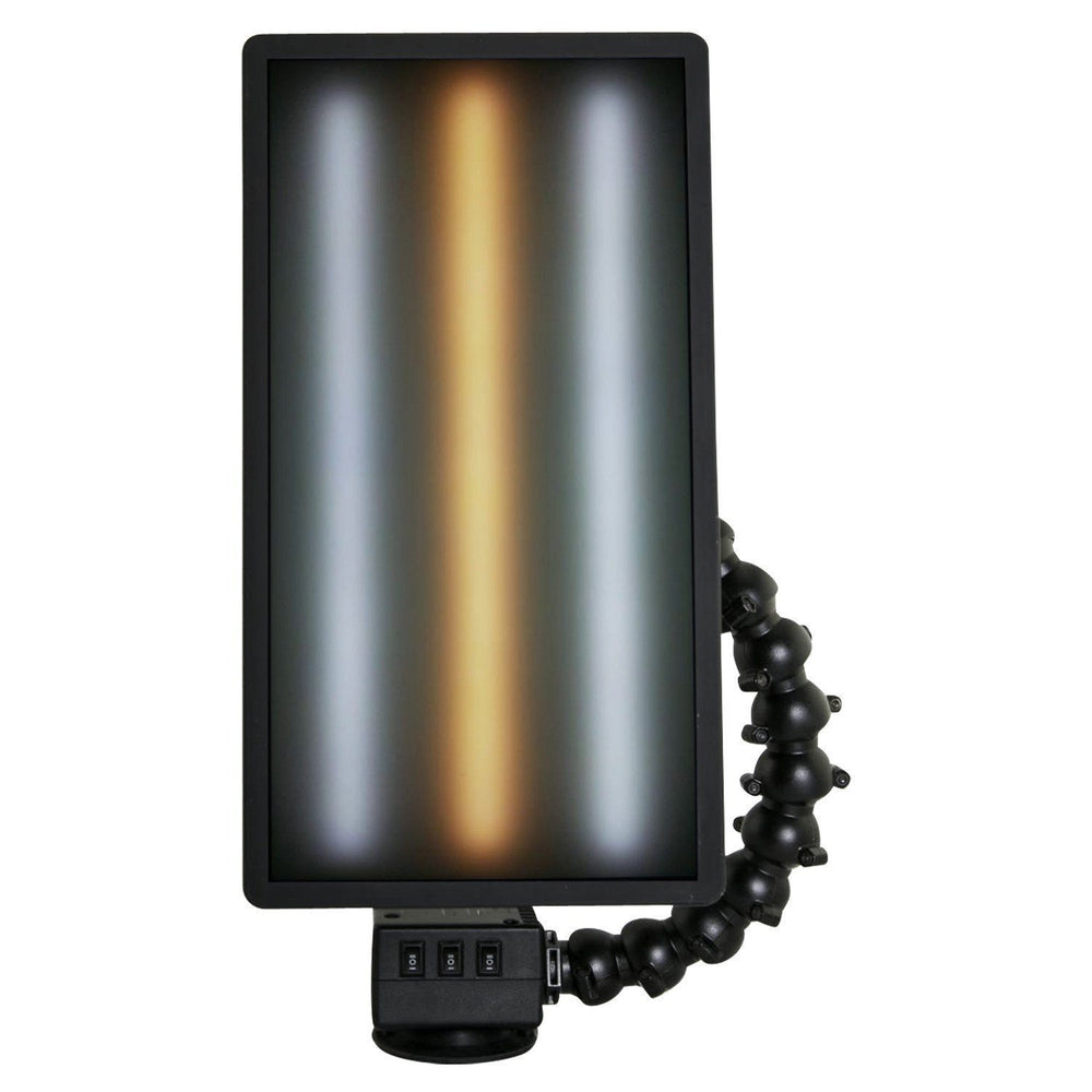 "Elim A Dent Ver-2 14"" 3 Strip, 18v Warm Center Portable PDR Light - Milwaukee Compatible - Battery & Charger Sold Separately (3WW14)"