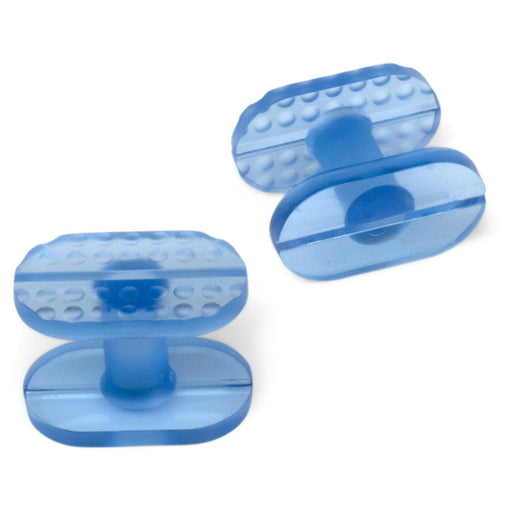 Keco 13 x 22 mm Ice Smooth and Dimpled Dual Surface Flip Crease Tab (5 Pack)