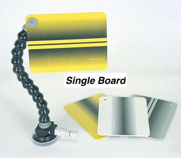 "Dentcraft 6 x 8"" Small Yellow Reflector Board - with Locline and Suction Cup (410-RBRD-YELLOW)"