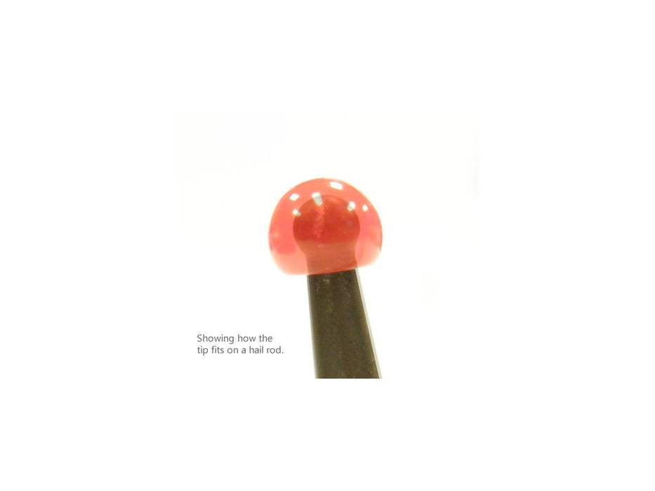"Dentcraft Red Hard Tip for 1/4"" Ball Tips (R-TIPS)"
