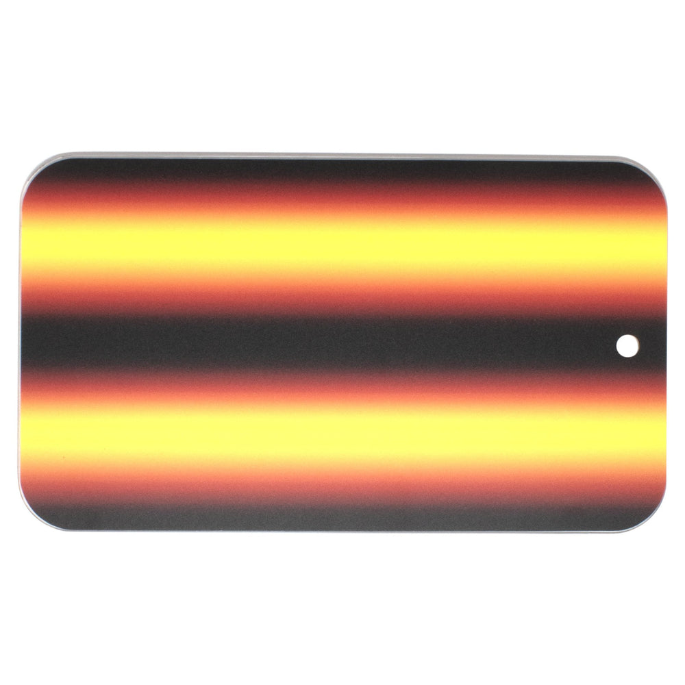 "A1 Tools 12"" 3D Reflector Board - Amber Fire (3D-AFB-12)"