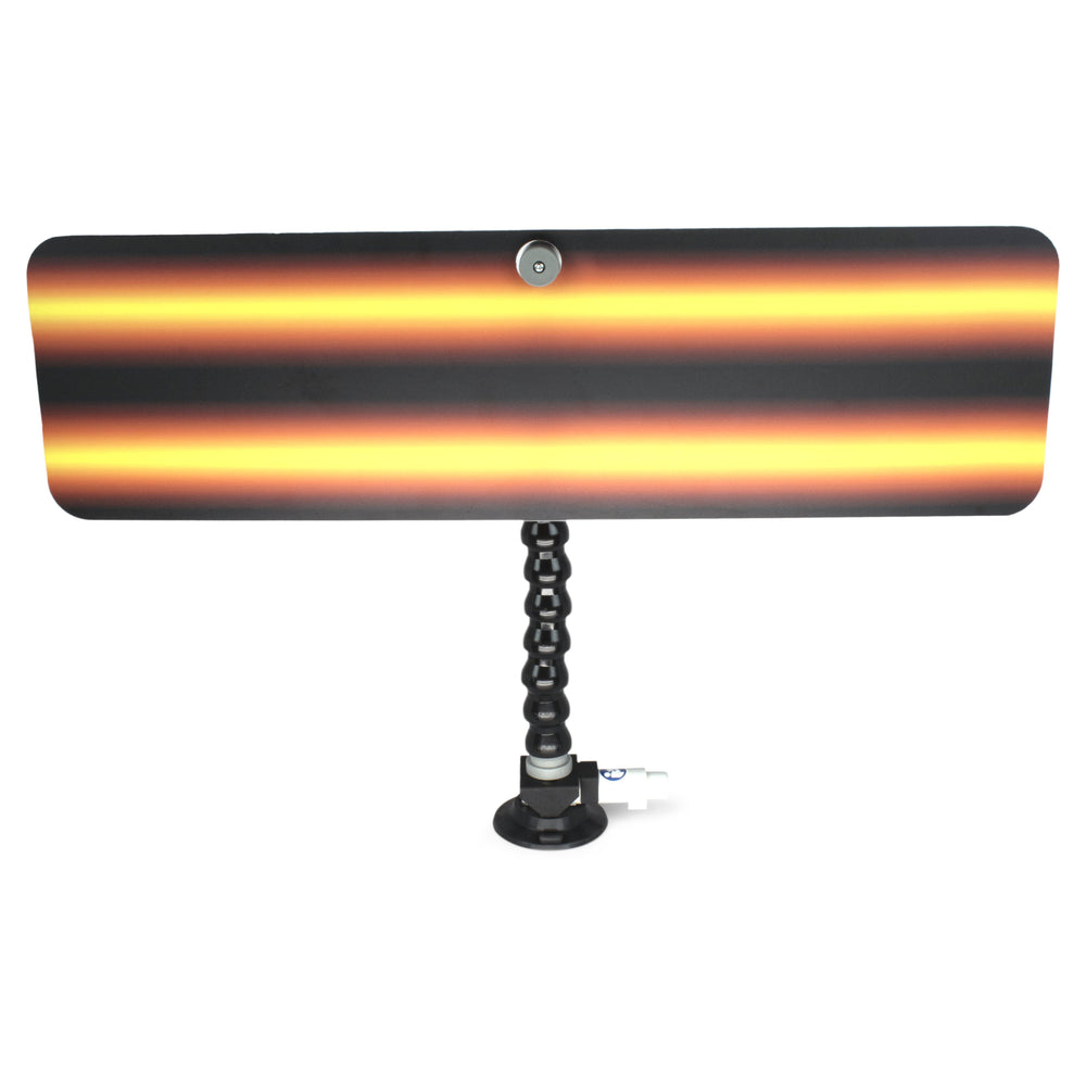 "A1 Tools 24"" Amber Fire 3D Reflector Board - With 12"" Loc-line and Suction Cup (3D-AFB-24-SC)"