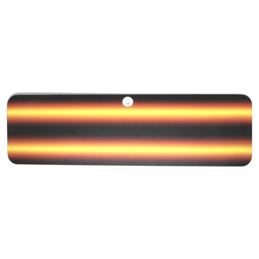 "A1 Tools 24"" Amber Fire 3D Reflector Board (3D-AFB-24)"