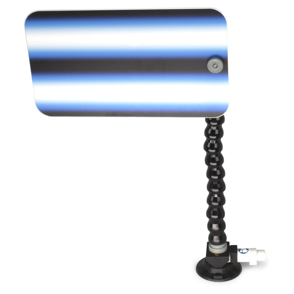 "A1 Tools 12"" 3D Reflector Board - With 12"" Loc-line and Suction Cup Saber Blue (3D-BB-12-SC)"