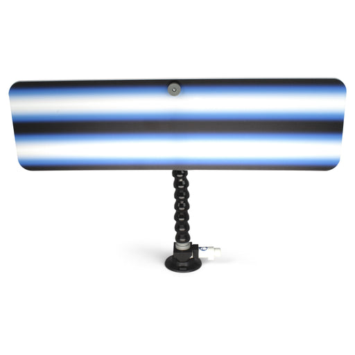 "A1 Tools 24"" 3D Reflector Board - With 12"" Loc-line and Suction Cup Saber Blue (3D-BB-24-SC)"