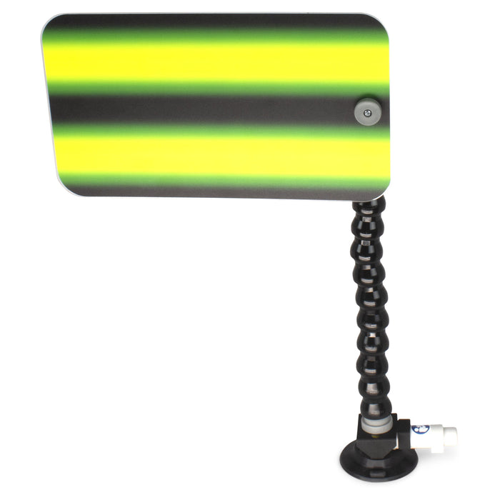 "A1 Tools 12"" Kestler Monster Green 3D Reflector Board - With 12"" Loc-line and Suction Cup (3D-KMG-12-SC)"