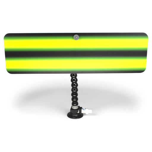 "A1 Tools 24"" 3D Reflector Board - With 12"" Loc-line and Suction Cup Kestler Monster Green (3D-KMG-24-SC)"
