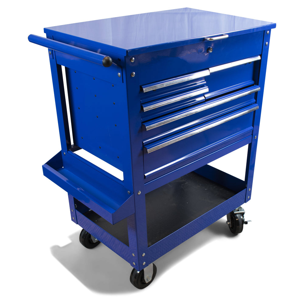 "30"" Blue 5 Drawer Rolling Collision Center Toolbox"