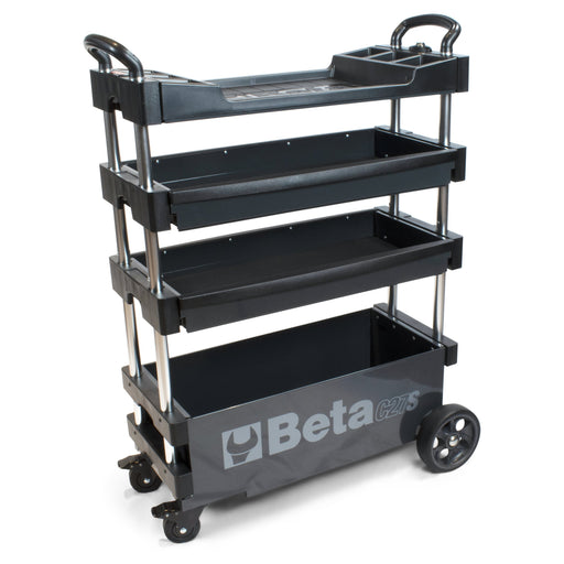 Beta Collapsible Portable Tool Cart - Grey (C27S)