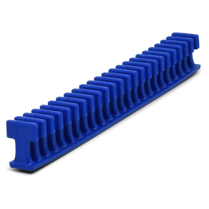 Centipede 12.5 mm Blue Flexible Thin Smooth Crease Glue Tab