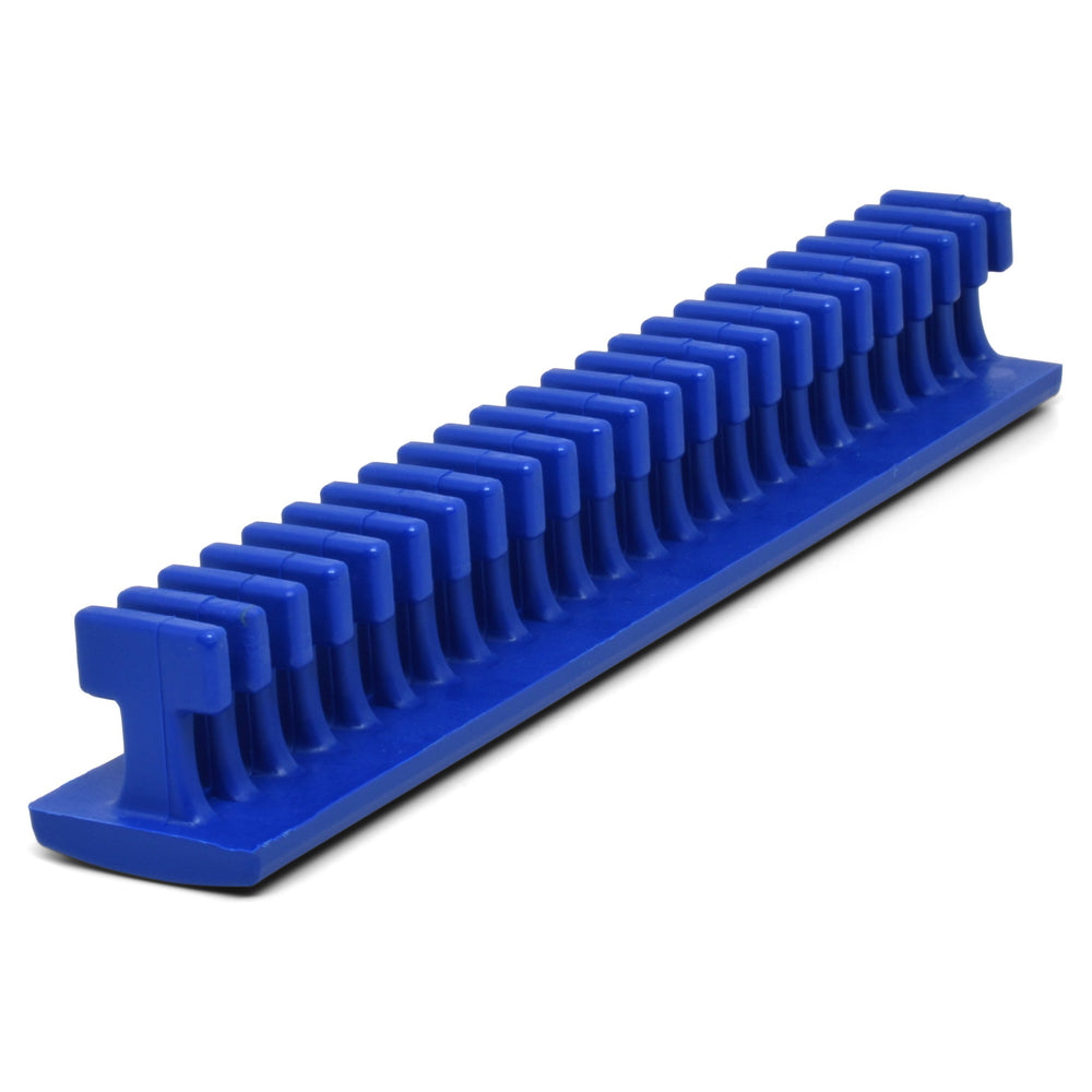 Centipede 25 mm Blue Flexible Thick Smooth Crease Glue Tab - 6""