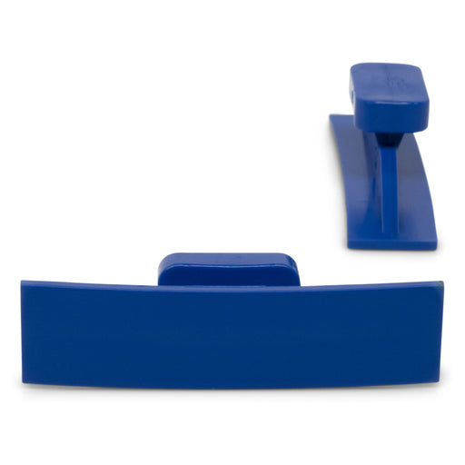 Dead Center 55 x 14 mm Blue Curved Crease Glue Tabs (5 Pack)