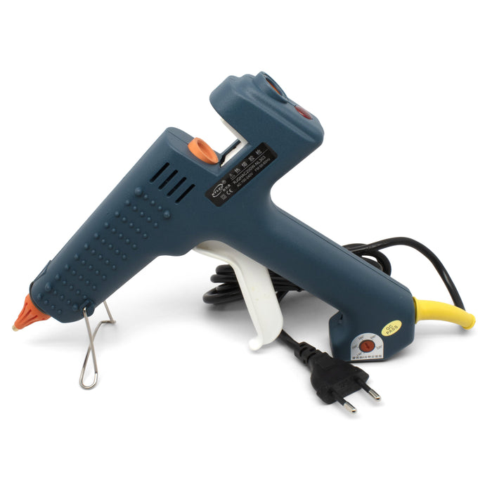 100 Watt European Plug Adjustable Temperature Corded Glue Gun