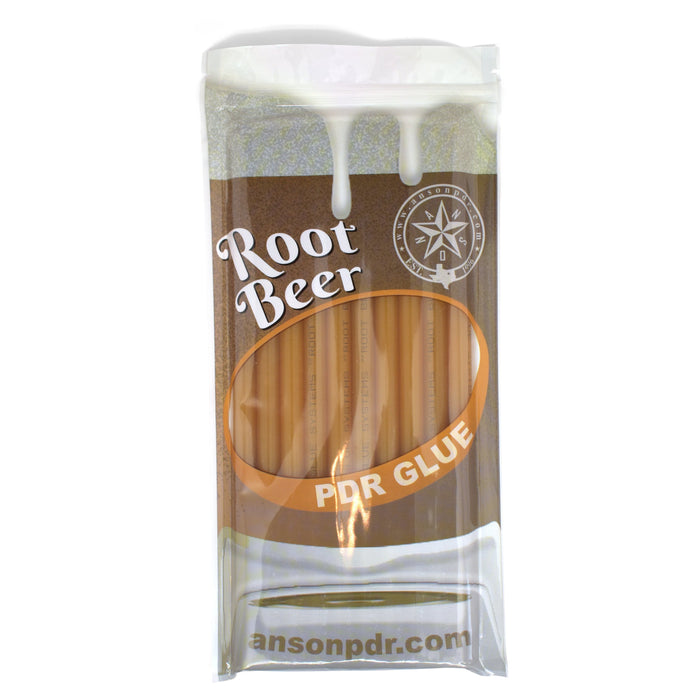 Anson PDR Root Beer PDR Glue Sticks (10 Sticks) (RGB)