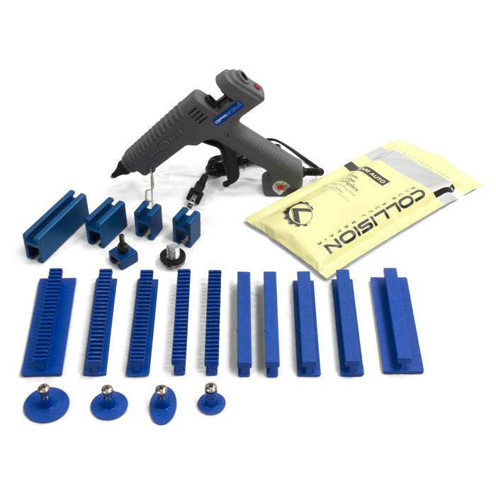 Keco Glue Pull Starter Kit (#1) for Pro Spot, Camauto, CarO-Liner, and Miracle Systems - 110 V