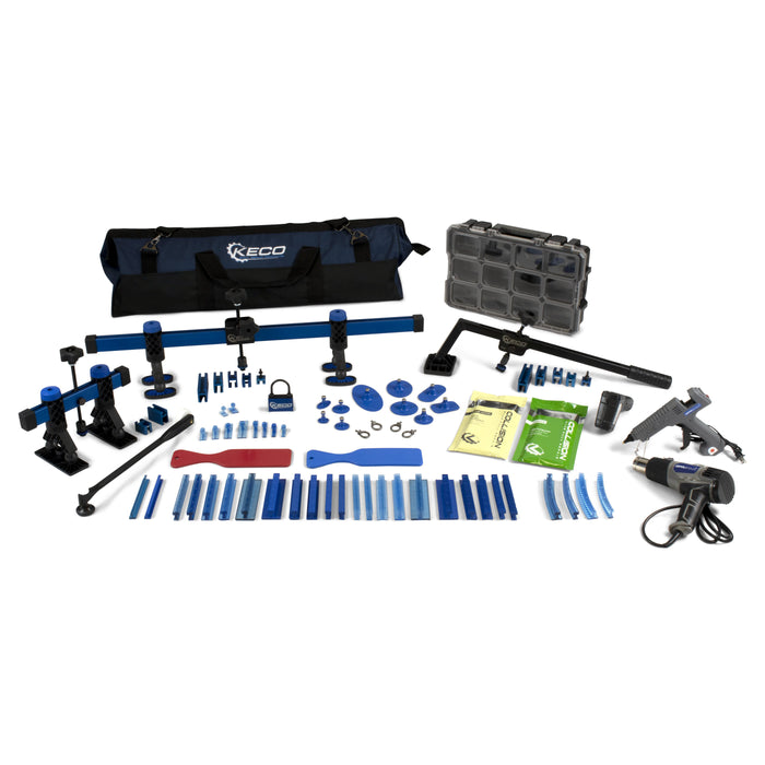 Keco Level 1 Glue Pull Collision Pro Kit with Bag