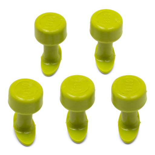 Gang Green 18 mm Smooth Oval Glue Tab (5 Pack) (GOT18MM5)