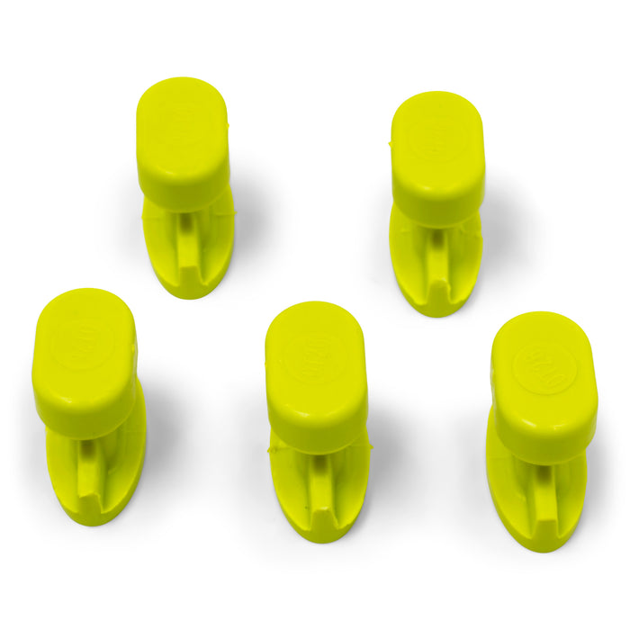 Gang Green 26 mm Smooth Oval Glue Tab (5 Pack) (GOT25MM5)