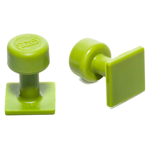 Gang Green 15 mm Smooth Square Glue Tab (10 Pack) (GSQ15MM10)