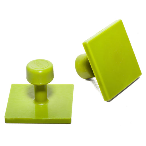 Gang Green 30 mm Smooth Square Glue Tab (10 Pack) (GSQ30MM10)