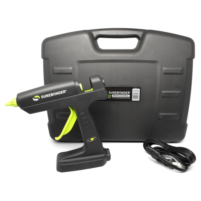Surebonder 120 Watt Corded/18 Volt Cordless Hybrid Glue Gun - Battery Sold Separately (HYBRID-120)