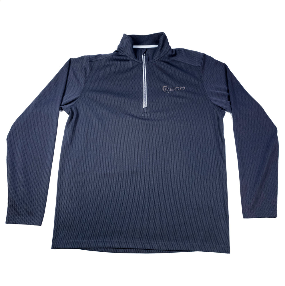 Keco Gray Sport Tek Long Sleeve Shirt Sport Shirt - L