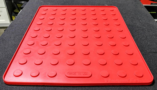 "MagnaTek 21 x 17"" Red Magnetic PDR Tool Mat (SQ6057968-RD)"