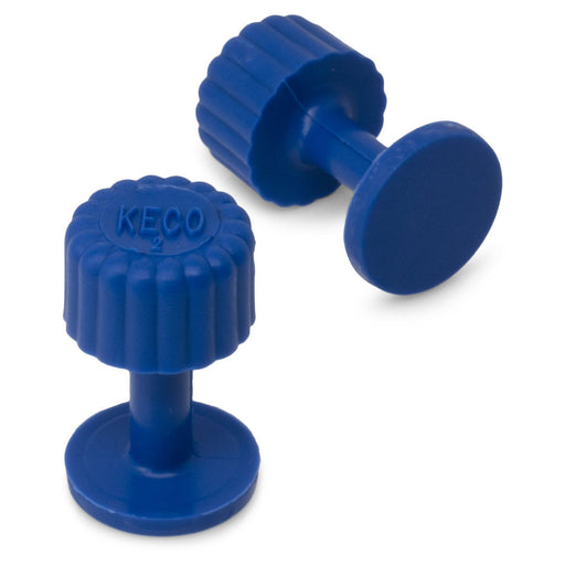 Dead Center 13 mm Blue Smooth Finishing Glue Tab (5 Pack)
