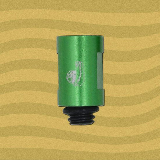 "Edgy 3/4"" Green Aluminum Tip Extension (ET-640)"