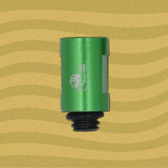 "Edgy 3/4"" Green Aluminum Tip Extension"