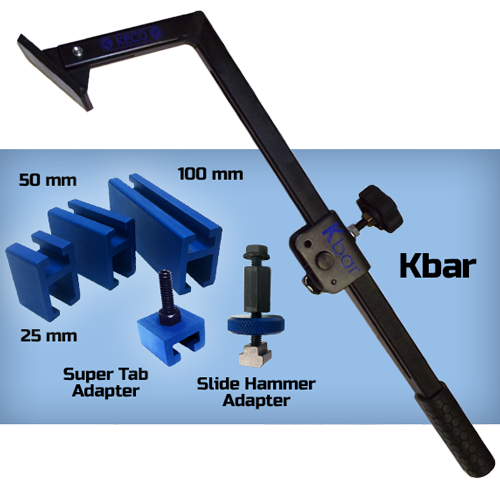 KBar with adapters