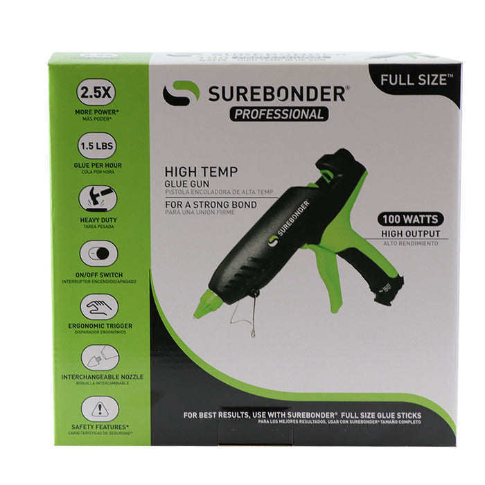 Surebonder 100 Watt Professional High Temp Full Size Glue Gun (PRO2-100)