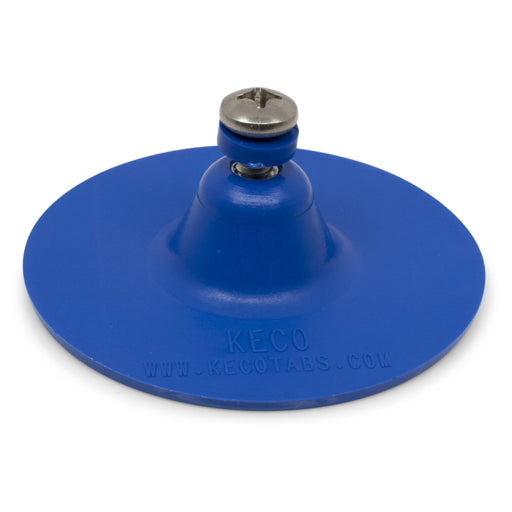 "SuperTab® 3"" Blue Smooth Round Large Damage Collision Tabs"