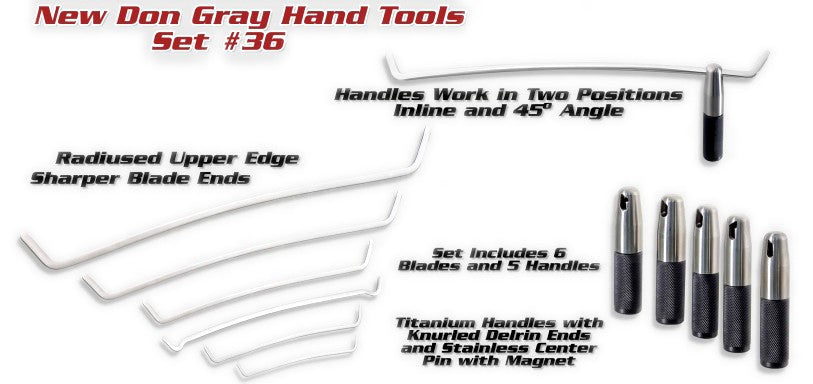 Ultra Don Gray Hand Tools Set - Version 2.0 (11 Pieces) (SET36)