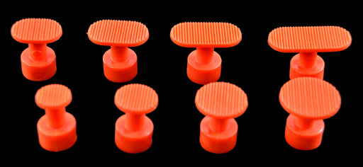 Aussie Bloody Orange Groved Glue Tabs - Variety Pack (8 Pieces)