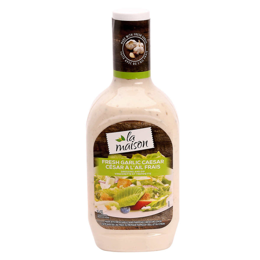 Fresh Garlic Caesar Dressing - سس تازه سیر سزار