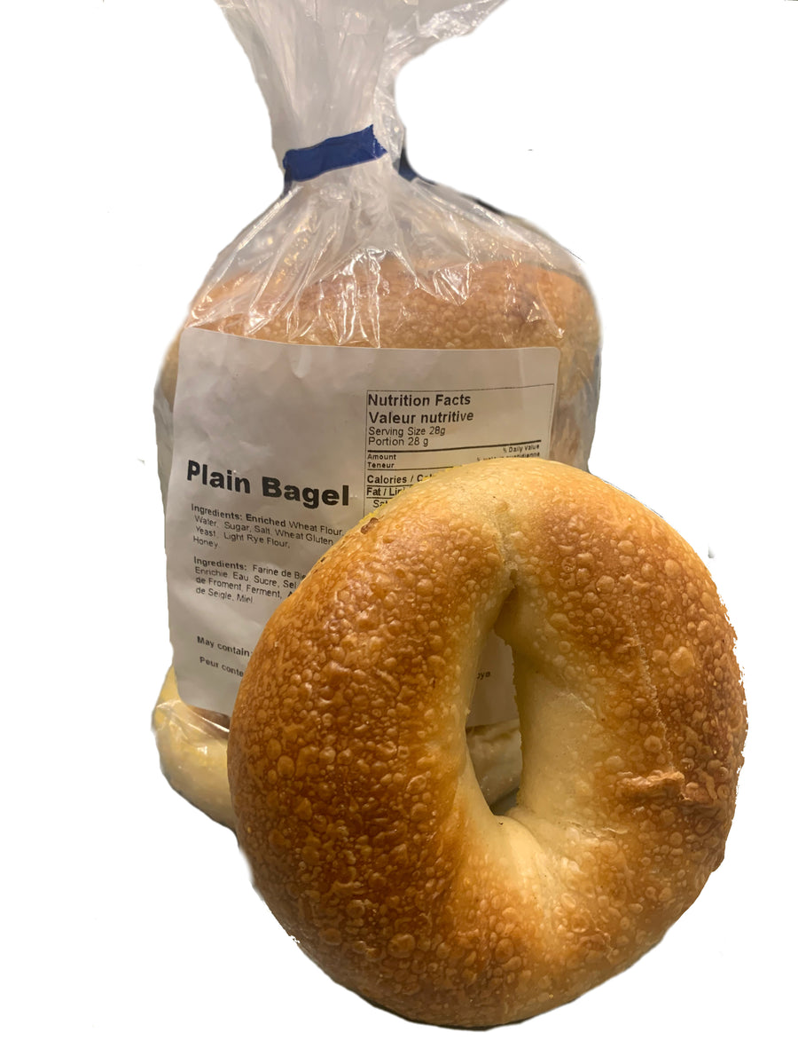 Fresh Plain bagel - نان بیگل ساده تاره
