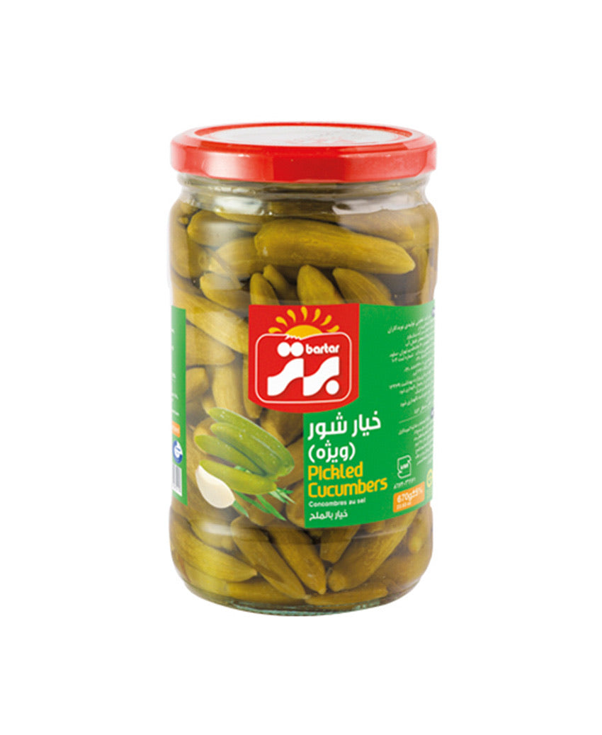 Cucumber pickle - خیارشور