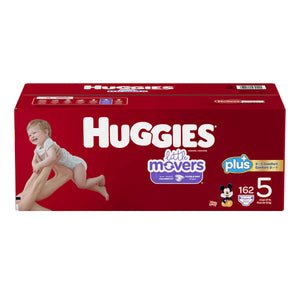 Huggies Plus Size 5 Diapers - پوشک بچه سایز ۵