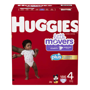 Huggies Plus Size 4 Diapers - پوشک بچه سایز ۴