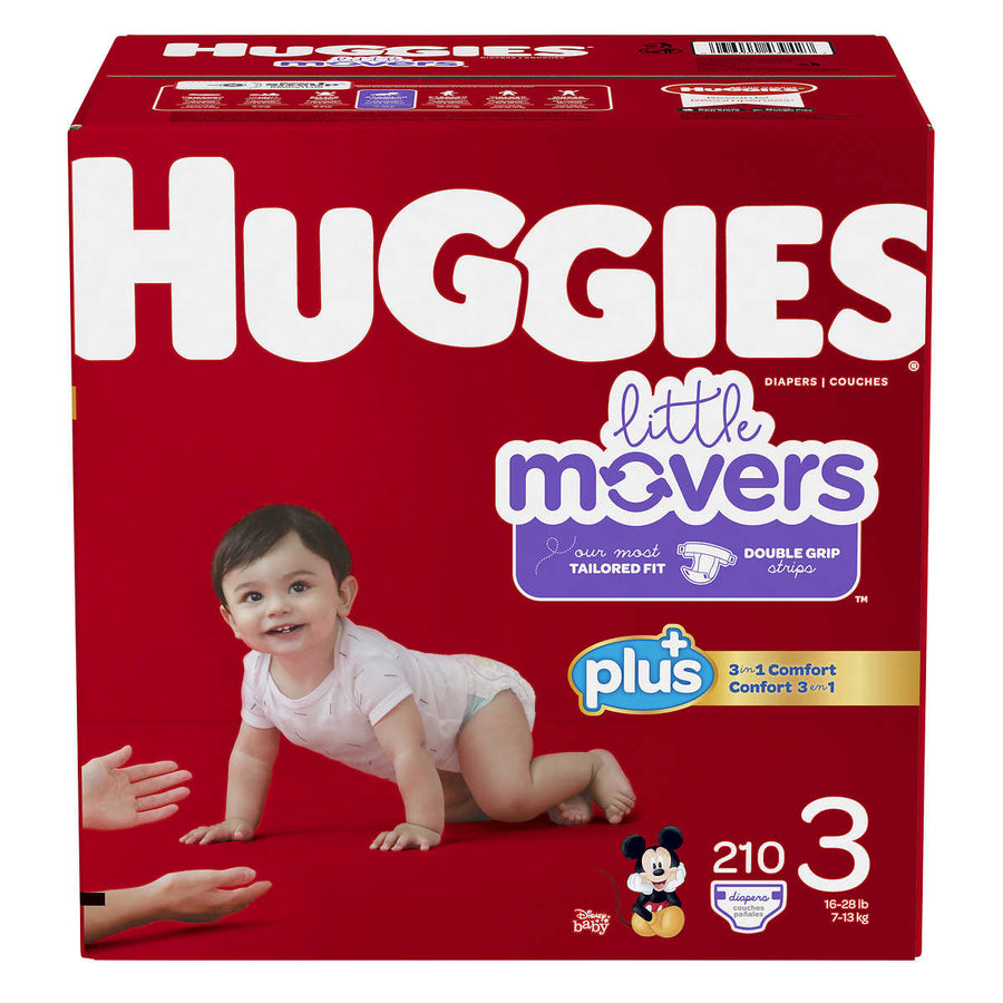 Huggies Plus Size 3 Diapers - پوشک بچه سایز ۳
