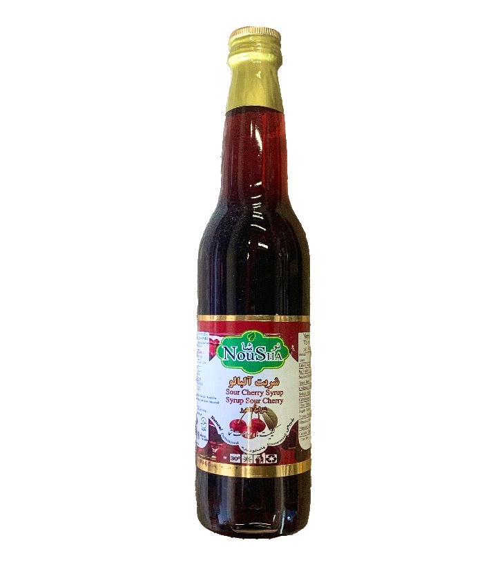 Sour cherry syrup - شربت آلبالو‌