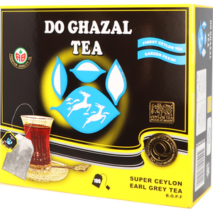 Super Ceylon Earl Grey Tea Bag -  چای کیسه ارل گری