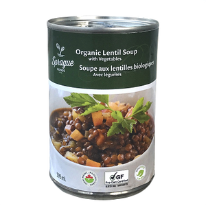Organic Lentils Soup with Vegetables - سوپ عدس وسبزیجات