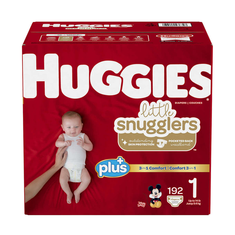Huggies Plus Size 1 Diapers - پوشک بچه‌ سایز ۱