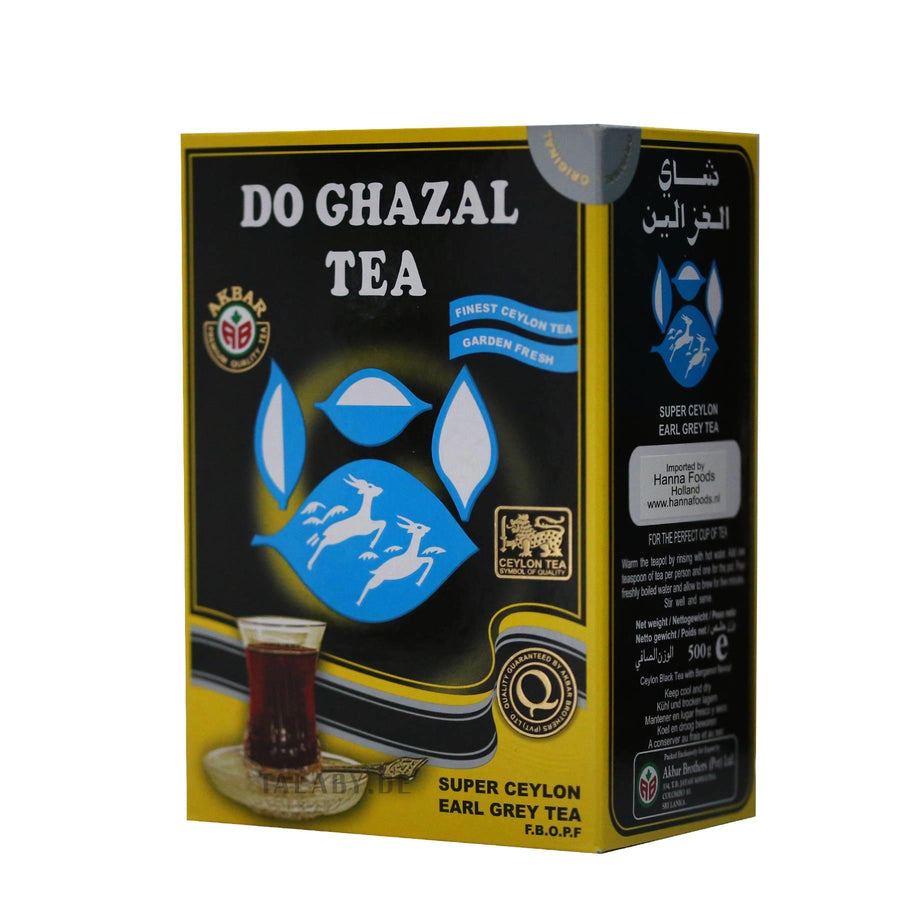 Super Ceylon Earl Grey  tea (black) - چای دوغزال عطری مشکی