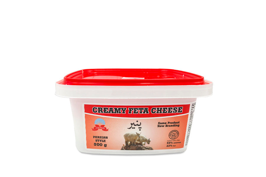 Creamy feta cheese - پنیر فتانرم