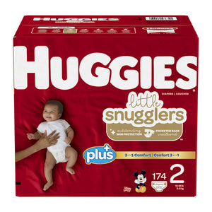 Huggies Plus Size 2 Diapers - پوشک بچه سایز ۲